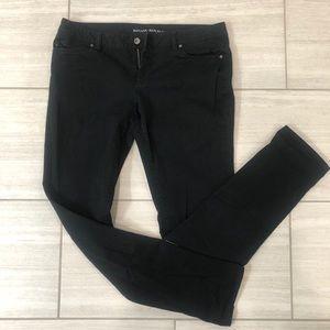 Black skinny jean pant